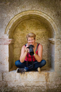 Crystal in Italy with Camera By Sherry