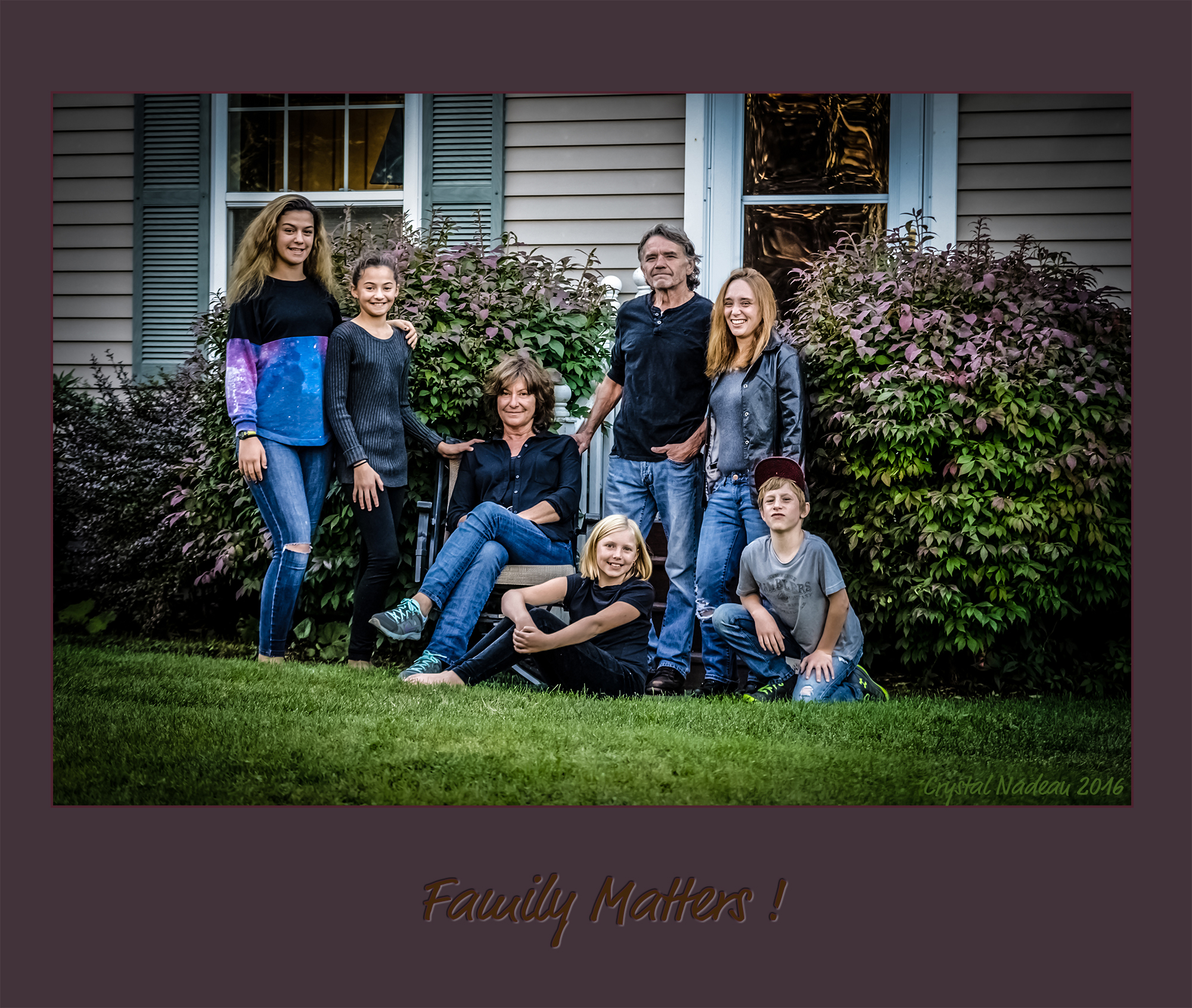 "Dale Tempesta ""Family Matters"" 10/06/16 - A Family portrait"