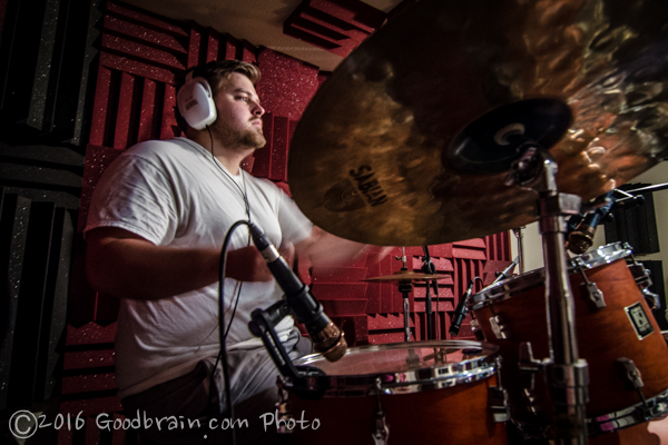 Dylan Krul - the Drummer for The Northern Rebels band