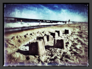 Let Me Know Your Dreams (sand castles at the beach)