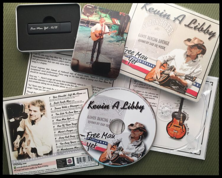Kevin A Libby Singer Songwriter / Complete Icon-Brand Package