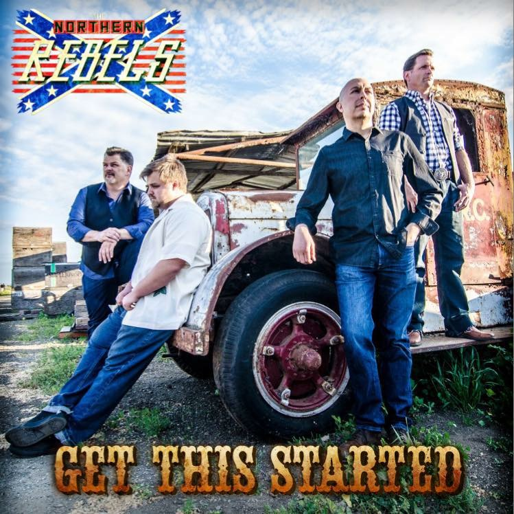 The Northern Rebels - Get This Started - first release