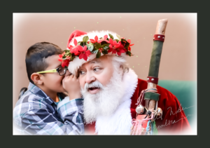 Let Me Know Your Dreams (a boy whispering to Santa)